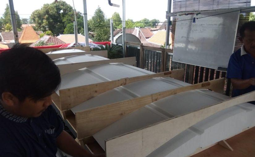 Proses Pembuatan Wing untuk Air Taxi