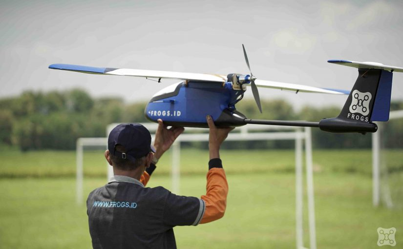 Hover Test Drone Surveillance & Drone Sprayer