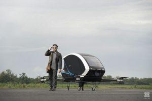 Test Flight Passenger Drone Frogs 282