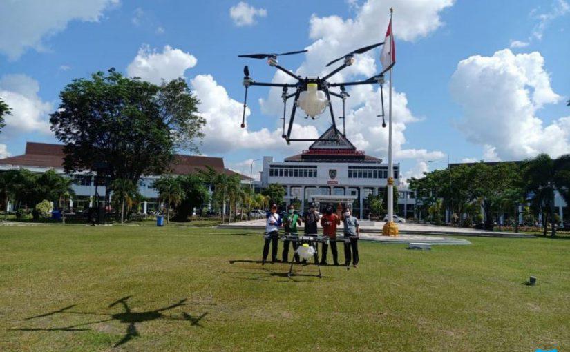 Pengadaan Drone Sprayer V3 –  BPBD & PEMPROV KALTENG