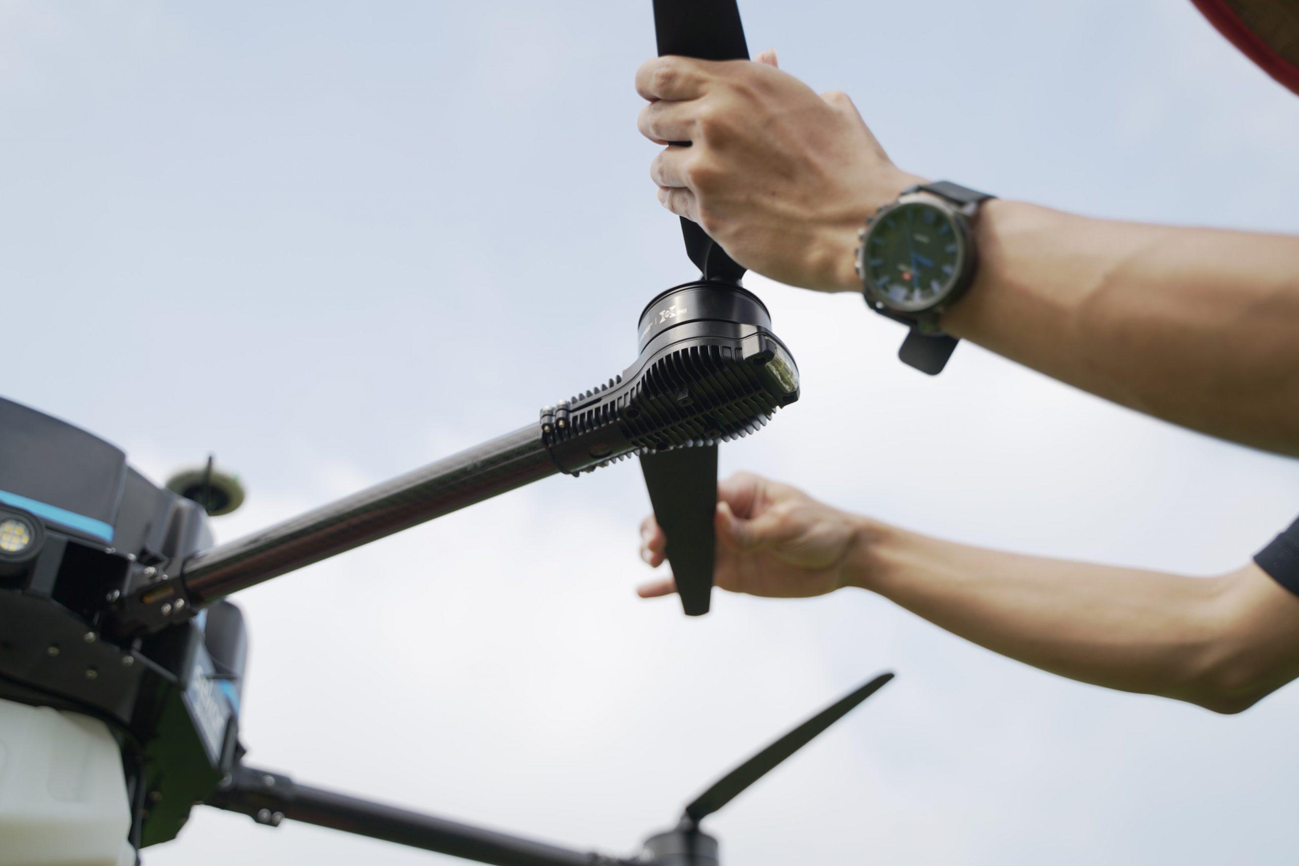 Tahapan Pengoperasian Sekar Agri Drone Sprayer