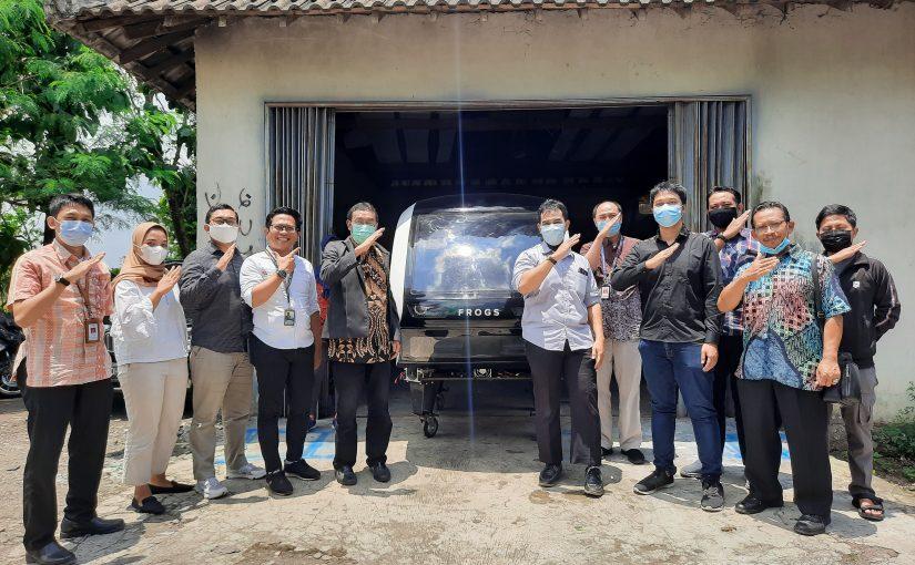 Kunjungan Kemenperin Indonesia dan Rekadaya Multi Adiprima ke Frogs Indonesia
